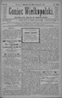 Goniec Wielkopolski: najtańsze pismo codzienne dla wszystkich stanów 1880.11.16 R.4 Nr263