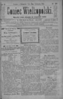 Goniec Wielkopolski: najtańsze pismo codzienne dla wszystkich stanów 1880.11.18 R.4 Nr265