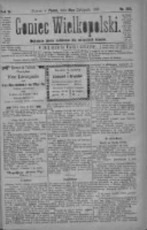 Goniec Wielkopolski: najtańsze pismo codzienne dla wszystkich stanów 1880.11.19 R.4 Nr266