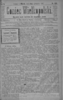 Goniec Wielkopolski: najtańsze pismo codzienne dla wszystkich stanów 1880.11.23 R.4 Nr269
