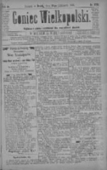 Goniec Wielkopolski: najtańsze pismo codzienne dla wszystkich stanów 1880.11.24 R.4 Nr270