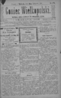 Goniec Wielkopolski: najtańsze pismo codzienne dla wszystkich stanów 1880.11.28 R.4 Nr274