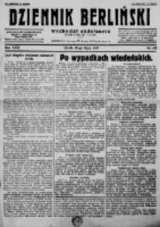 Dziennik Berliński. 1927 R.31 nr162