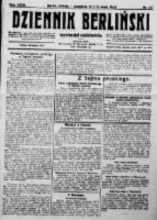 Dziennik Berliński. 1923 R.27 nr107