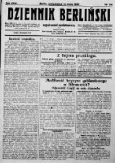 Dziennik Berliński. 1923 R.27 nr108