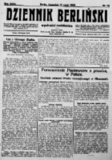 Dziennik Berliński. 1923 R.27 nr111