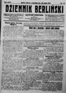 Dziennik Berliński. 1923 R.27 nr113