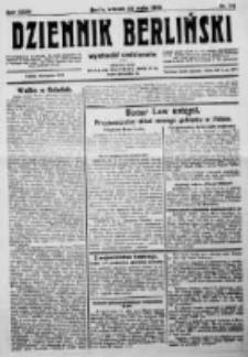 Dziennik Berliński. 1923 R.27 nr114