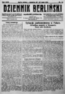 Dziennik Berliński. 1923 R.27 nr118