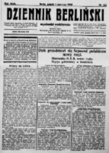 Dziennik Berliński. 1923 R.27 nr122