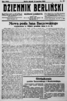 Dziennik Berliński. 1923 R.27 nr131