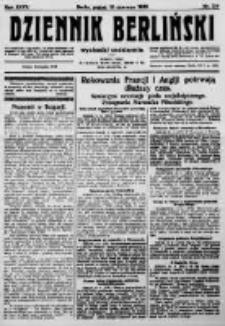 Dziennik Berliński. 1923 R.27 nr134