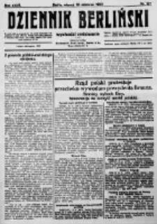 Dziennik Berliński. 1923 R.27 nr137