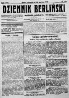 Dziennik Berliński. 1923 R.27 nr142