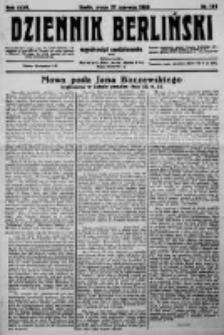 Dziennik Berliński. 1923 R.27 nr144