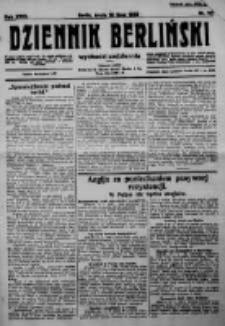 Dziennik Berliński. 1923 R.27 nr161