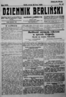 Dziennik Berliński. 1923 R.27 nr167