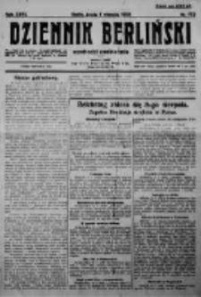 Dziennik Berliński. 1923 R.27 nr173
