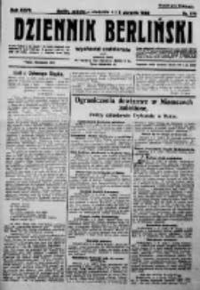 Dziennik Berliński. 1923 R.27 nr176