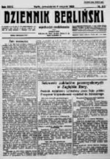 Dziennik Berliński. 1923 R.27 nr177