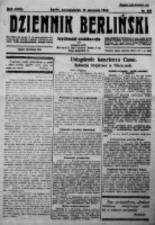 Dziennik Berliński. 1923 R.27 nr181