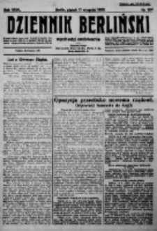 Dziennik Berliński. 1923 R.27 nr184