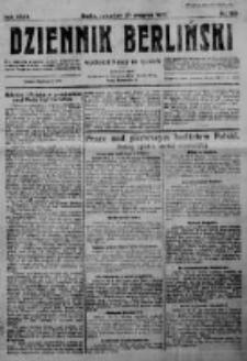 Dziennik Berliński. 1923 R.27 nr189