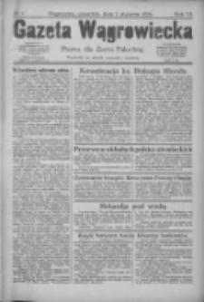 Gazeta Wągrowiecka: pismo dla ziemi pałuckiej 1926.01.07 R.6 Nr3