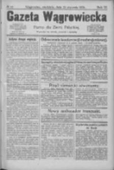 Gazeta Wągrowiecka: pismo dla ziemi pałuckiej 1926.01.24 R.6 Nr10