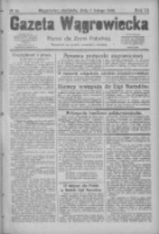 Gazeta Wągrowiecka: pismo dla ziemi pałuckiej 1926.02.07 R.6 Nr16