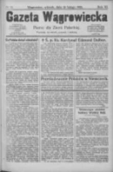 Gazeta Wągrowiecka: pismo dla ziemi pałuckiej 1926.02.16 R.6 Nr20