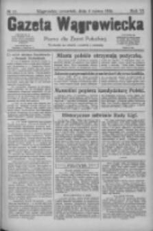 Gazeta Wągrowiecka: pismo dla ziemi pałuckiej 1926.03.04 R.6 Nr27