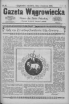 Gazeta Wągrowiecka: pismo dla ziemi pałuckiej 1926.04.04 R.6 Nr40