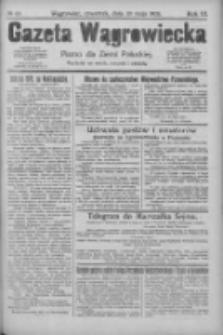 Gazeta Wągrowiecka: pismo dla ziemi pałuckiej 1926.05.20 R.6 Nr60