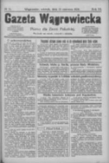 Gazeta Wągrowiecka: pismo dla ziemi pałuckiej 1926.06.15 R.6 Nr71
