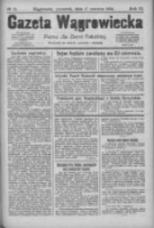 Gazeta Wągrowiecka: pismo dla ziemi pałuckiej 1926.06.17 R.6 Nr72