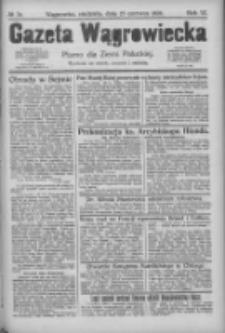 Gazeta Wągrowiecka: pismo dla ziemi pałuckiej 1926.06.27 R.6 Nr76