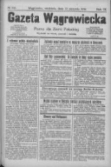 Gazeta Wągrowiecka: pismo dla ziemi pałuckiej 1926.08.22 R.6 Nr100