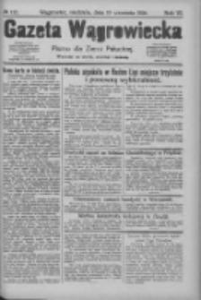 Gazeta Wągrowiecka: pismo dla ziemi pałuckiej 1926.09.19 R.6 Nr112