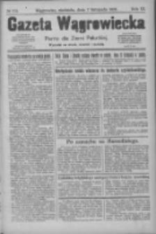 Gazeta Wągrowiecka: pismo dla ziemi pałuckiej 1926.11.07 R.6 Nr133