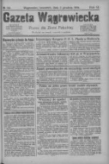 Gazeta Wągrowiecka: pismo dla ziemi pałuckiej 1926.12.02 R.6 Nr144