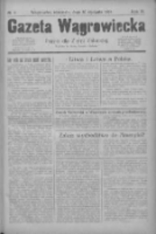 Gazeta Wągrowiecka: pismo dla ziemi pałuckiej 1929.01.20 R.9 Nr9