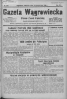 Gazeta Wągrowiecka: pismo ziemi pałuckiej 1936.10.25 R.16 Nr249