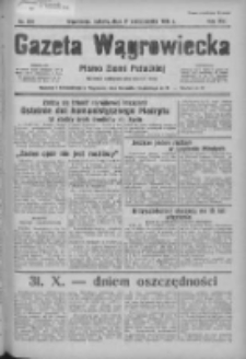 Gazeta Wągrowiecka: pismo ziemi pałuckiej 1936.10.31 R.16 Nr254
