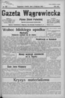 Gazeta Wągrowiecka: pismo ziemi pałuckiej 1936.11.03 R.16 Nr256