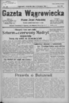 Gazeta Wągrowiecka: pismo ziemi pałuckiej 1936.11.05 R.16 Nr258