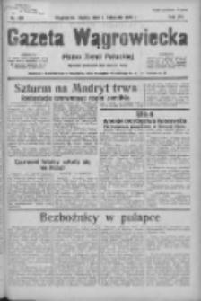 Gazeta Wągrowiecka: pismo ziemi pałuckiej 1936.11.06 R.16 Nr259