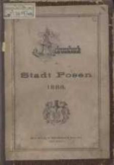 Adress- und Geschäfts- Handbuch der Stadt Posen. 1886