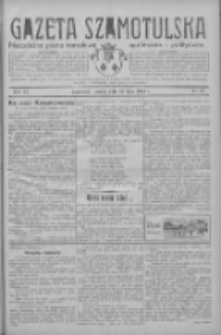 Gazeta Szamotulska: niezależne pismo narodowe, społeczne i polityczne 1933.07.29 R.12 Nr87