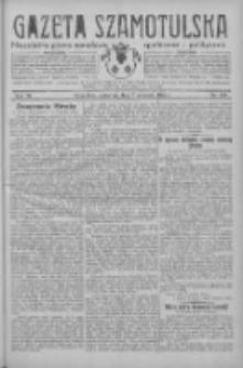 Gazeta Szamotulska: niezależne pismo narodowe, społeczne i polityczne 1933.09.07 R.12 Nr104
